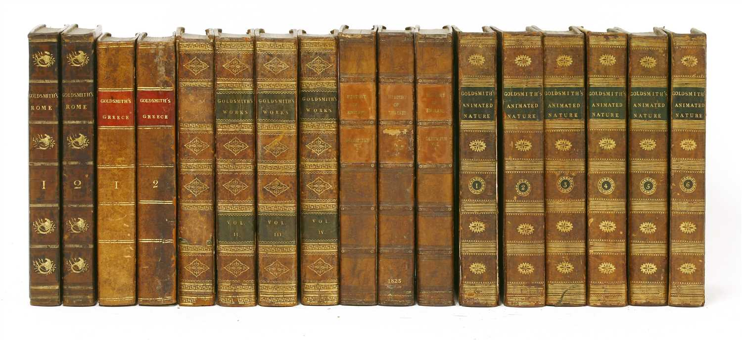Lot 90 - Goldsmith, Oliver: 1- History of the earth, and animated nature