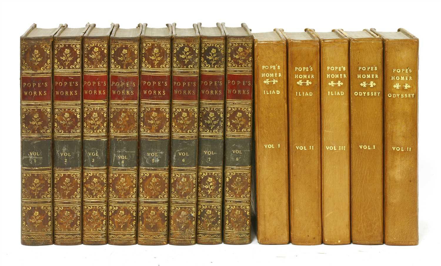 Lot 80 - Pope, Alexander: 1- The Iliad and The Odyssey of Homer