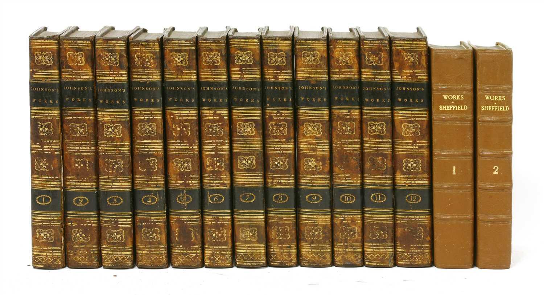 Lot 76 - 1- The works of Samuel Johnson