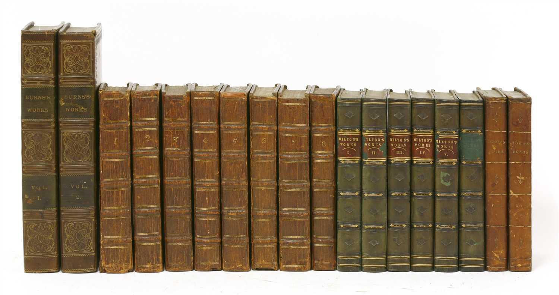 Lot 77 - BINDING: 1- The Works Of Robert Burns