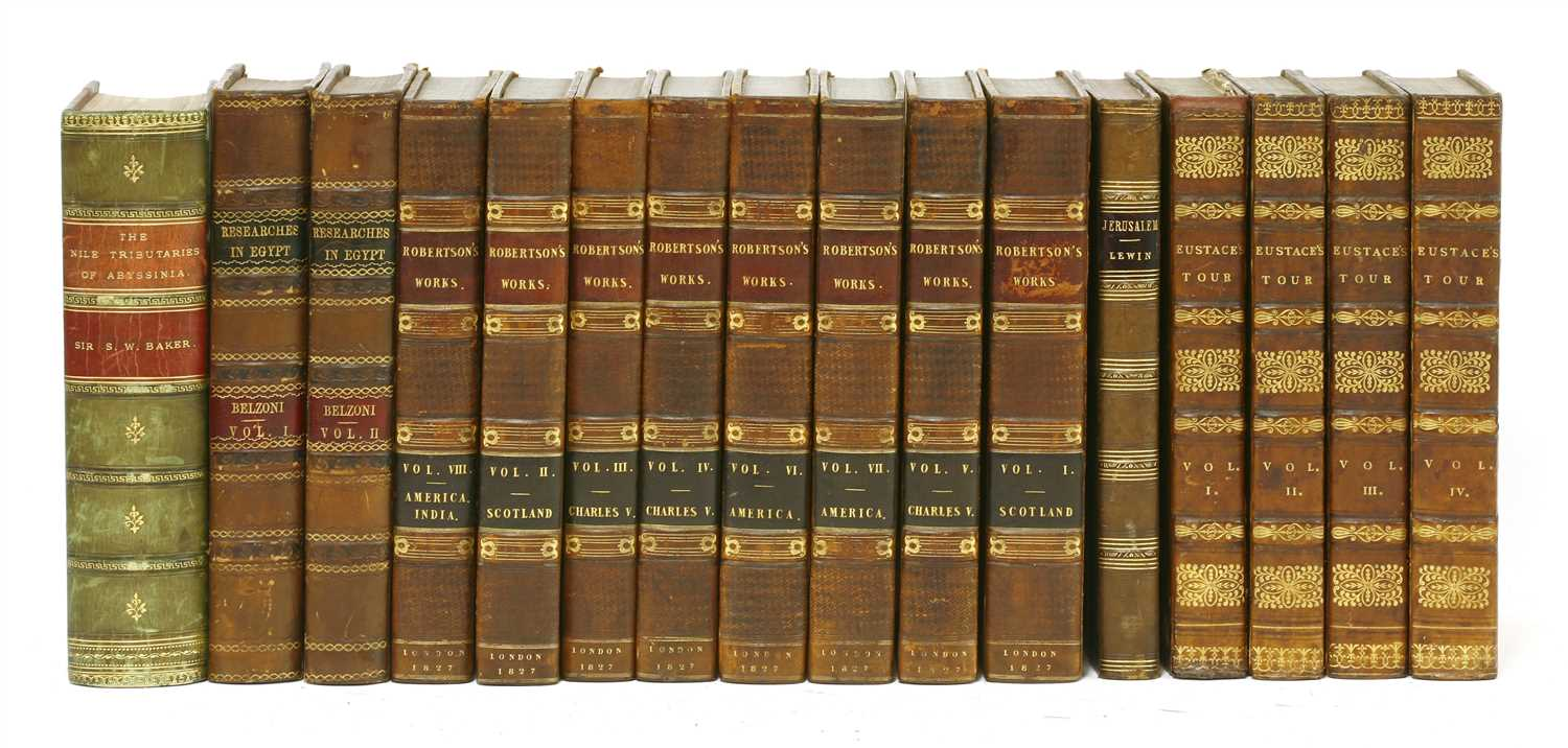 Lot 71 - 1- Belzoni, G: Narrative of the operations and recent discoveries within the pyramids