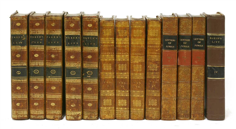 Lot 67 - 1- The whole genuine works of Flavius Josephus