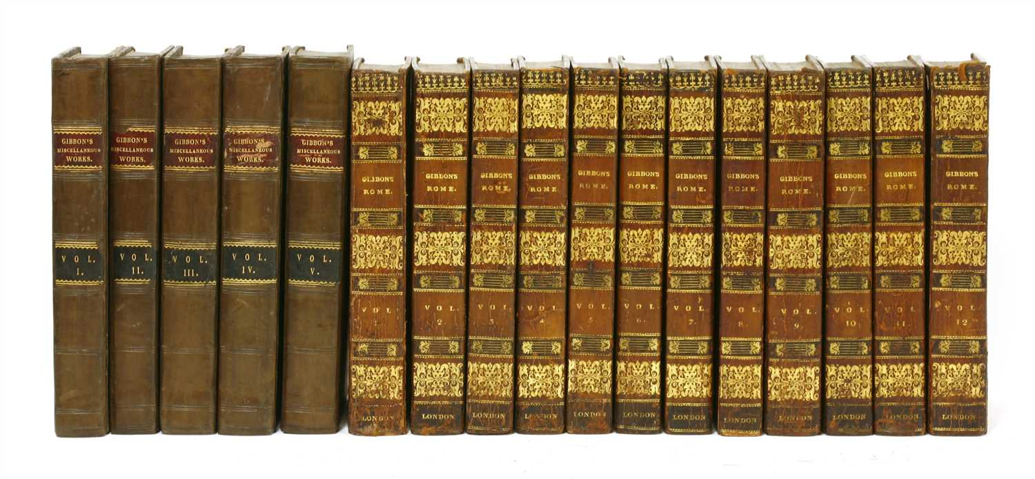 Lot 68 - Gibbon, Edward: 1- The History of the decline and fall of the Roman Empire.