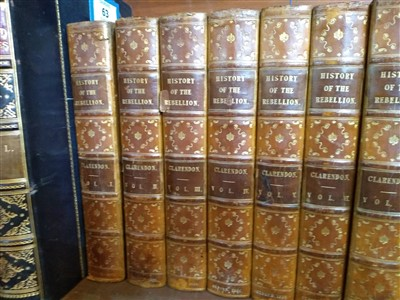 Lot 63 - 1- Clarendon's History of the rebellion and civil wars in England