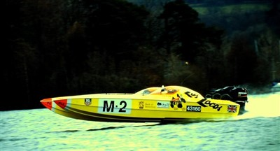 Lot 9-A Skater 28ft 'Cultured Vulture' powerboat