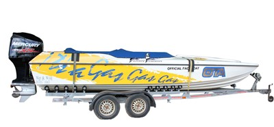 Lot 10-A Phantom 23ft powerboat