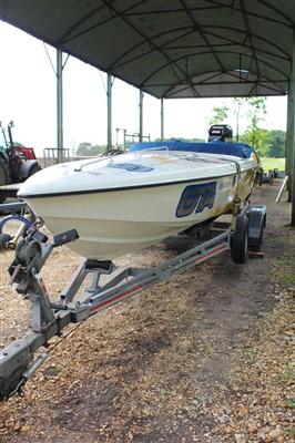 Lot 10-A Phantom 23ft powerboat