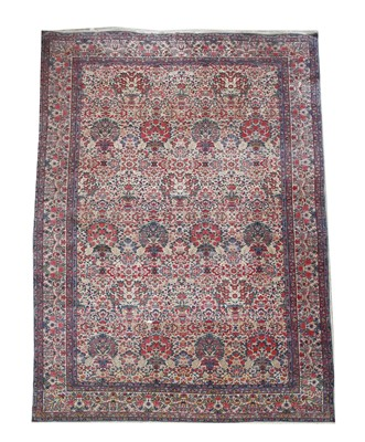 Lot 36-A Kirman carpet