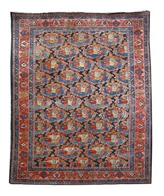 Lot 185 - A Persian Bidjar carpet