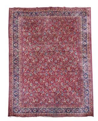 Lot 155 - A Mashed carpet