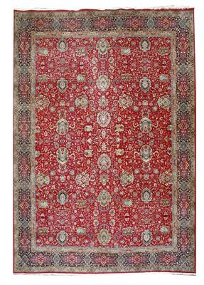 Lot 232 - A large Indian Kashmir carpet