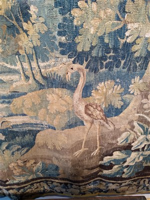 Lot 1-A Flemish verdure tapestry