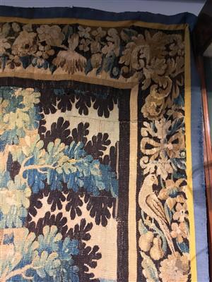 Lot 1-A Flemish verdure tapestry