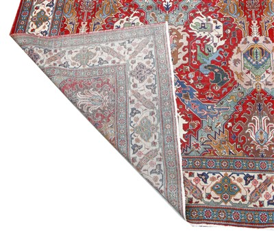 Lot 282 - A Tabriz carpet