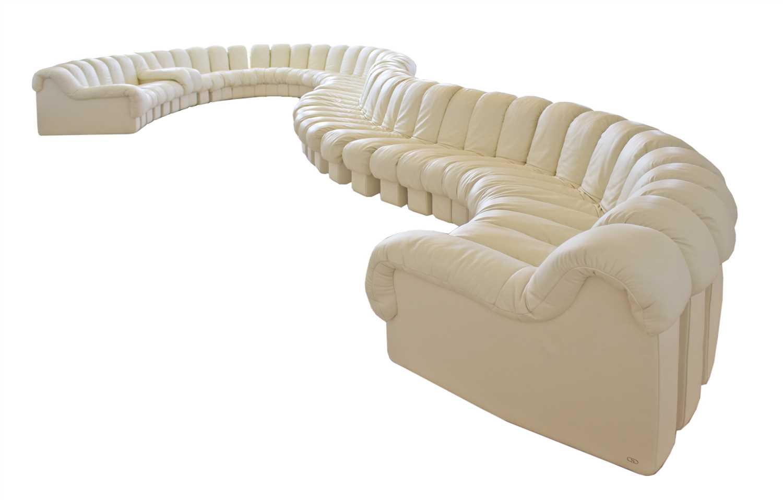 306 - A contemporary De Sede 'Non-Stop' sofa,