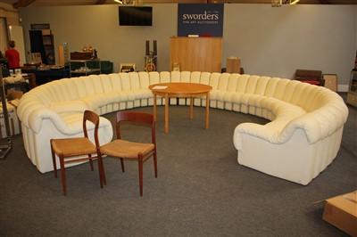 Lot 306-A contemporary De Sede 'Non-Stop' sofa