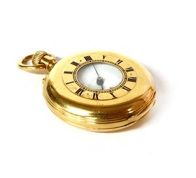 Lot 41-A Dent of London 18 carat gold half hunter pocket watch