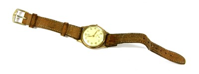 Lot 43-A Mappin 9ct gold gentlemen's wristwatch