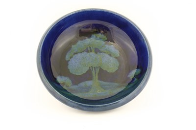 Lot 51 - A Moorcroft 'Moonlit Blue' bowl
