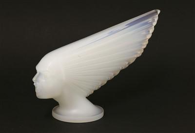 Lot 281 - A Lalique 'Spirit of the Wind' car mascot