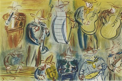 Lot 13-After Raoul Dufy (French, 1877-1983)