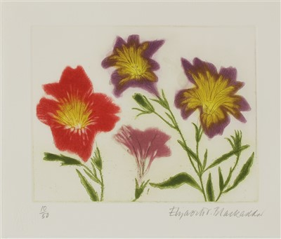Lot 14-*Dame Elizabeth Blackadder RA RSA (b.1931)