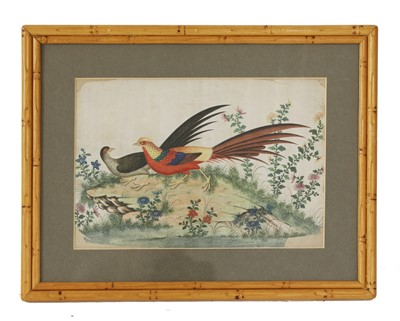 Lot 306-A collection of nine Chinese paintings