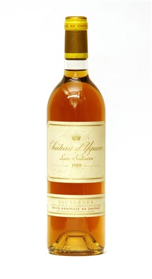 Lot 20-Château d'Yquem, Lur-Saluces, 1989, one bottle