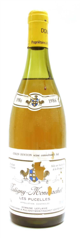 Lot 2-Domaine Leflaive, Puligny-Montrachet, Les Pucelles, 1986, one bottle