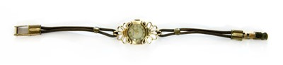 Lot 25-A ladies 9ct gold Boodle and Dunthorn, Liverpool, mechanical bracelet watch