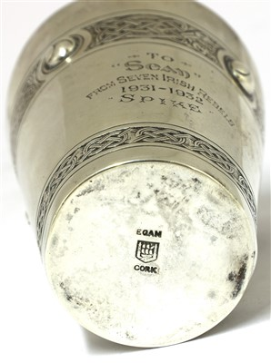 Lot 2-Irish Republican Interest: a silver beaker