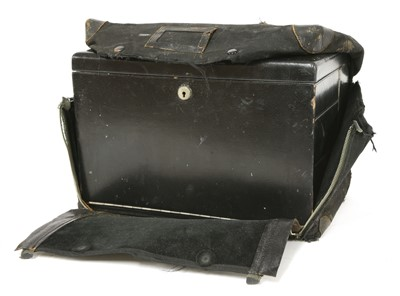 Lot 15-Mrs Mary Rawlings' travelling toiletry case
