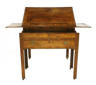 Lot 36-A George III mahogany architect's table
