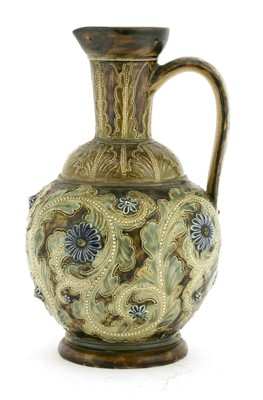 Lot 57 - A Doulton Lambeth stoneware ewer