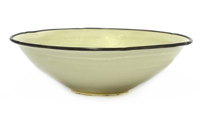 Lot 315 - A Chinese Ding ware bowl