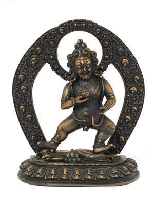 Lot 346 - A bronze bodhisattva