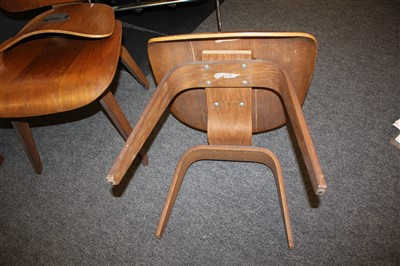 Lot 457 - A DCW chair
