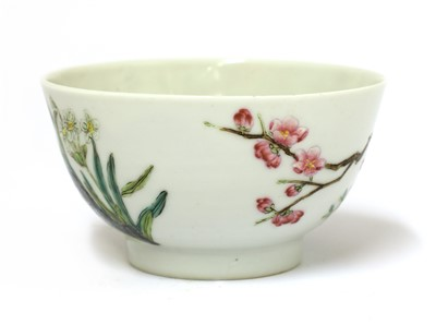 Lot 62-A Chinese famille rose tea bowl