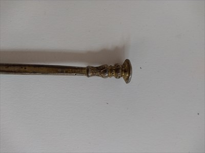 Lot 10-A Charles I West Country provincial silver seal-top spoon