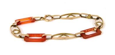 Lot 22-An Art Deco bracelet
