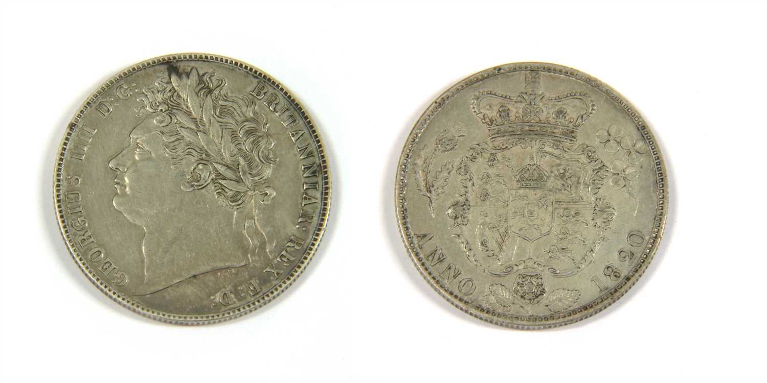 Lot 8-Coins, Great Britain, George IV (1820-1830)