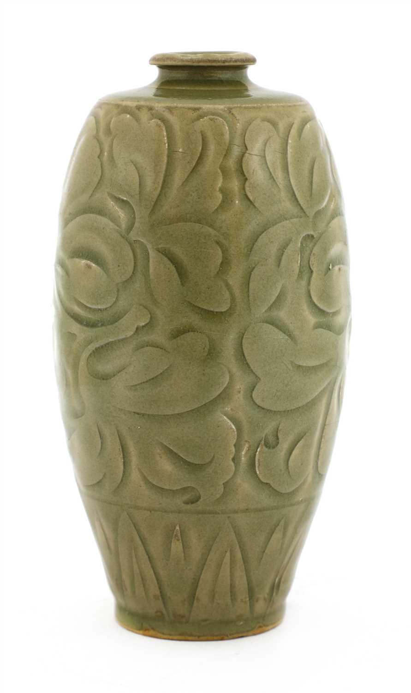 Lot 1-A Chinese Yaozhou ware vase
