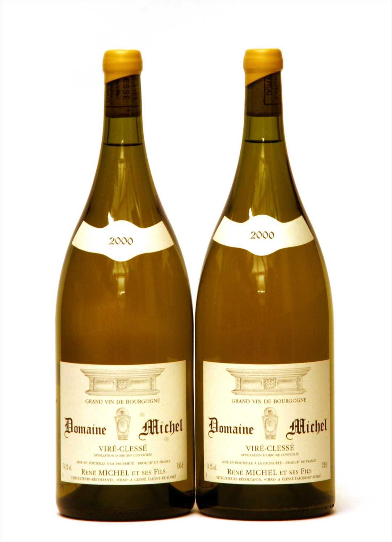 Lot 1-Domaine Michel, Viré-Clessé, 2000, two magnums