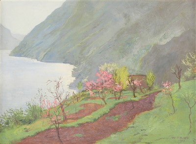 Lot 50-Willy Fries (Swiss, 1881-1965)
