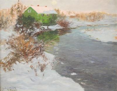 Lot 49-Albert Julius Olsson RA (1864-1942)