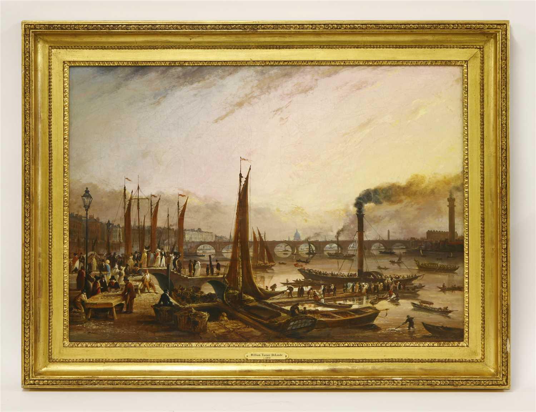 Lot 16-WILLIAM TURNER DE LONDE (fl.1820-1837)