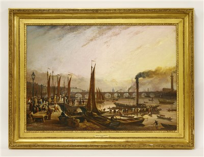 Lot 16-WILLIAM TURNER DE LONDE (fl.1820-1837)