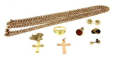 Lot 13-A quantity of jewellery