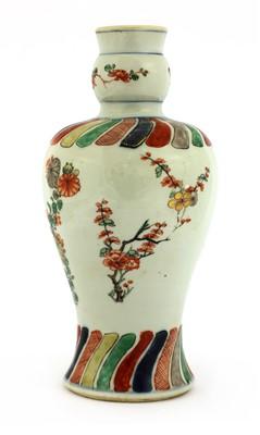 Lot 18-A Chinese wucai vase