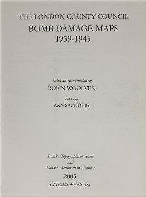 Lot 9-BOMB DAMAGE MAPS